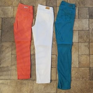 Lot of Level 99 Colored Skinny Pants size 27